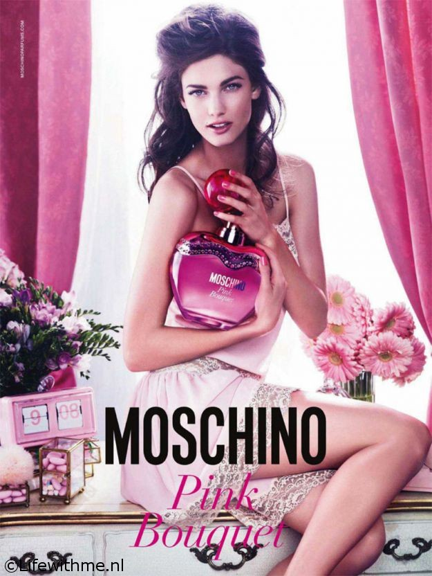 Moschino Pink Bouquet poster