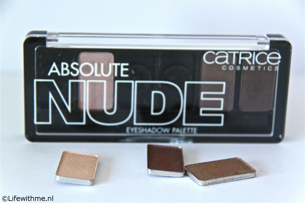 Catrice Nude palette verpakking stuk