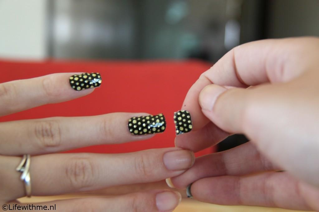 Hema nagelstickers trekken