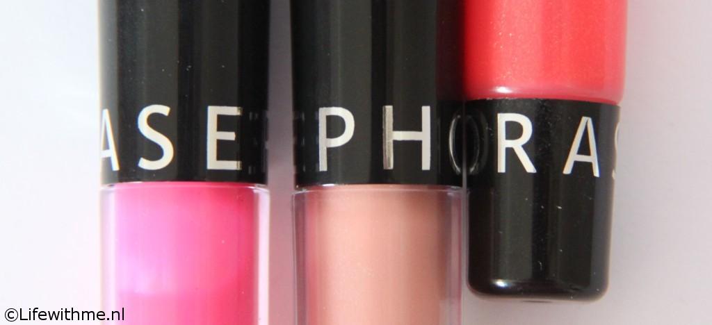 Sephora shoplog en swatches