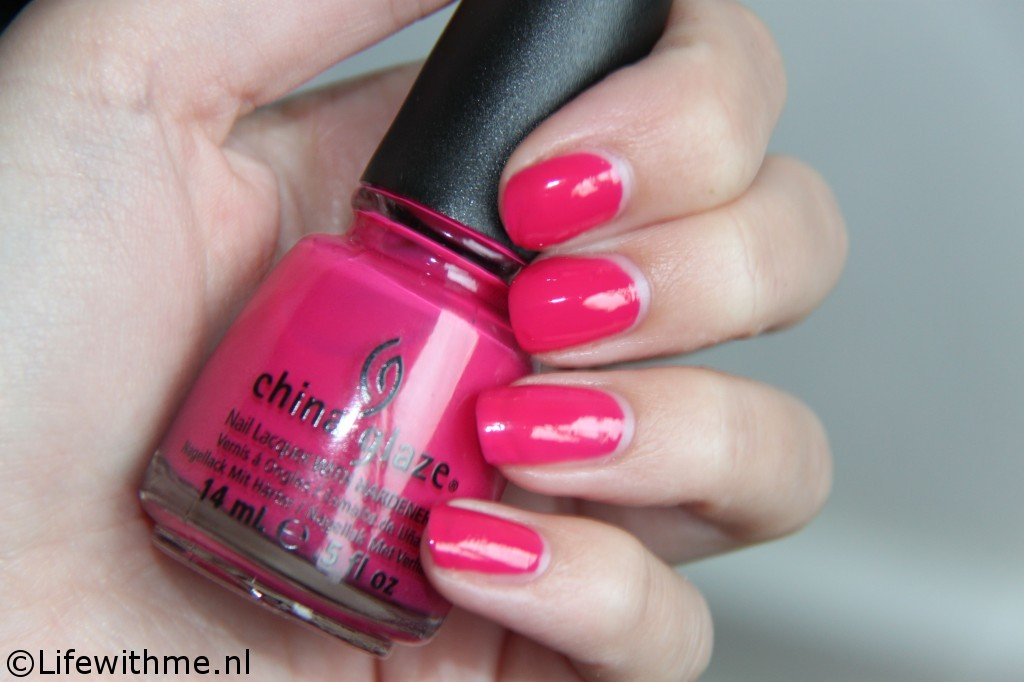 China Glaze fuchsia swatch