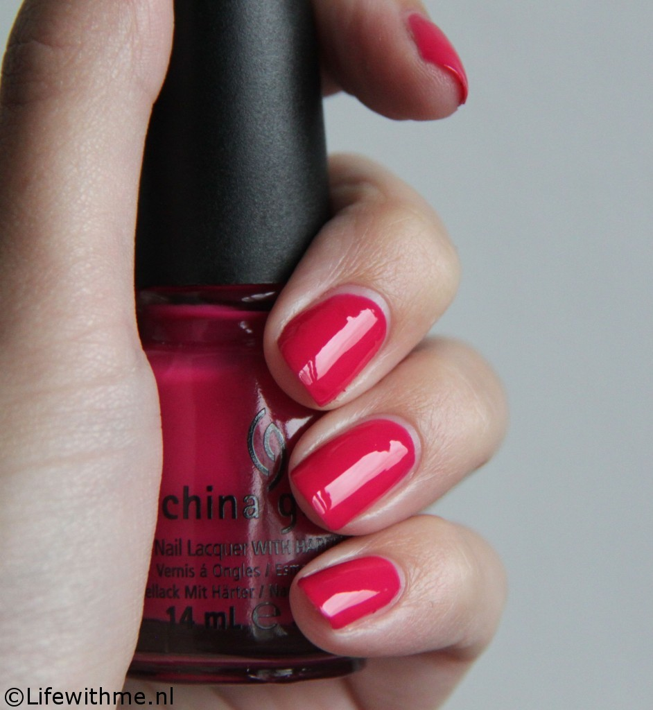China glaze fuchsia fanatic zonder flits