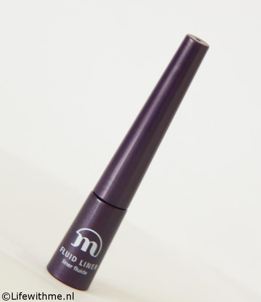 Make-up studio fluid liner paars