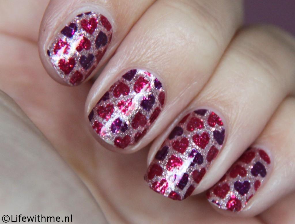Sephora nagelstickers resultaat twee