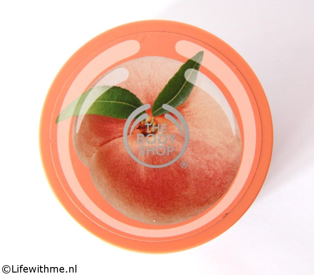 Body Shop vinegard peach scrub