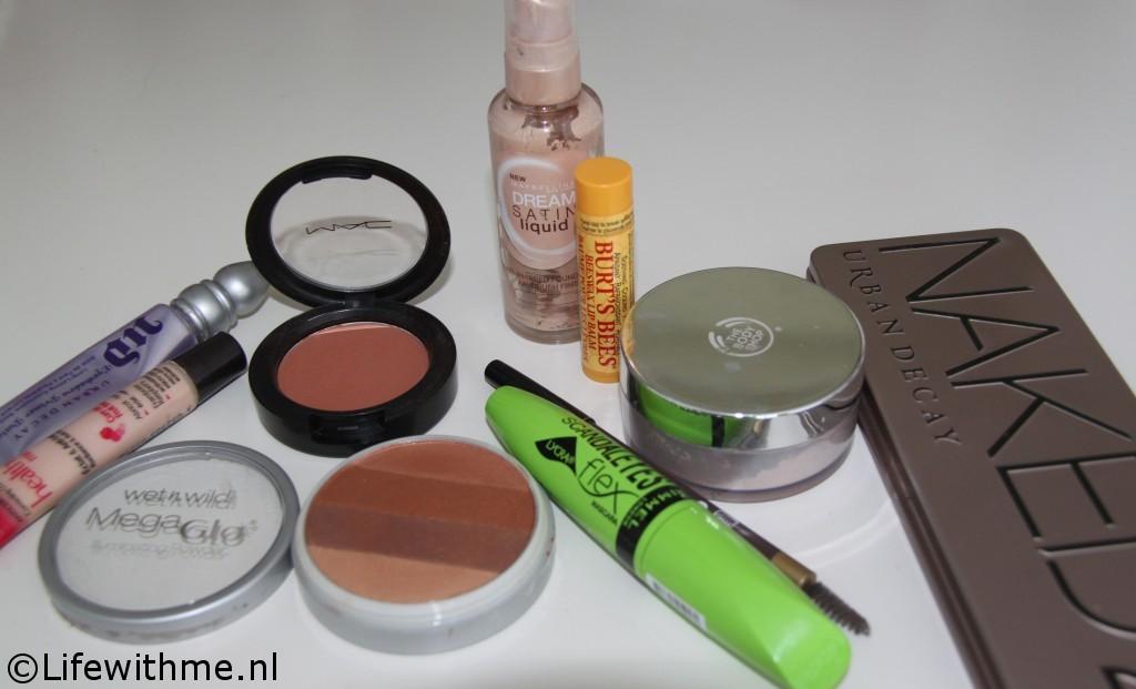 Glowy zomer look producten gebruikt