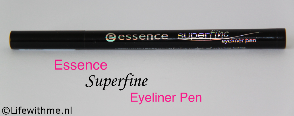 Essence super fine Eyeliner pen dwars