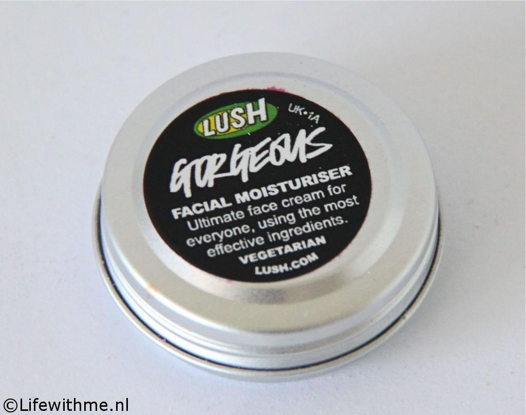 Lush Hello Gorgeous Gorgeous moisturizer