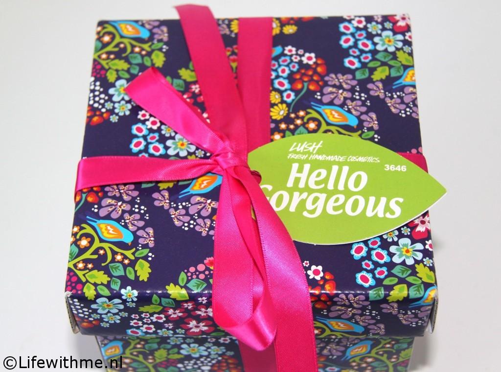 Lush Hello Gorgeous verpakking