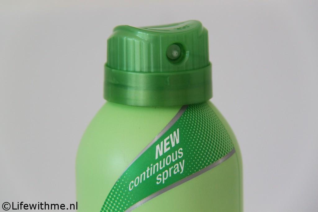 Vaseline Spray & Go moisturizer kop