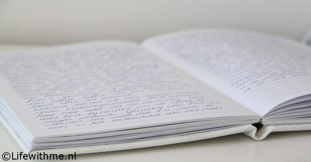 Writings dagboek schrijven