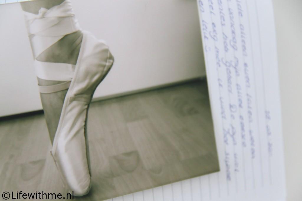 Writings dagboek spitzen