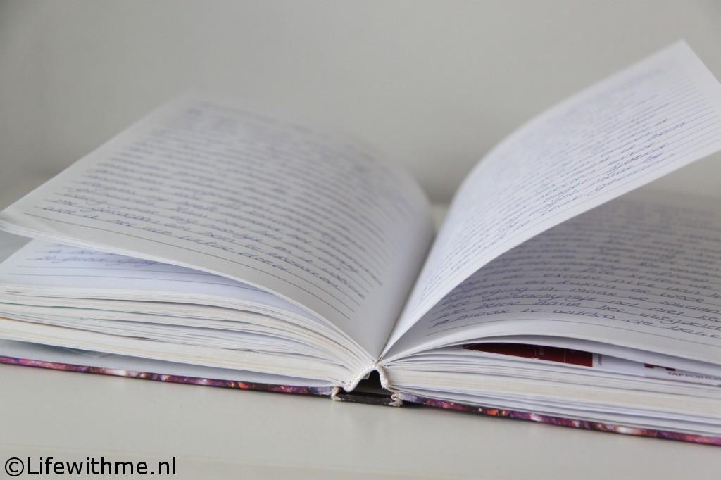 Writings projectboek schrijven
