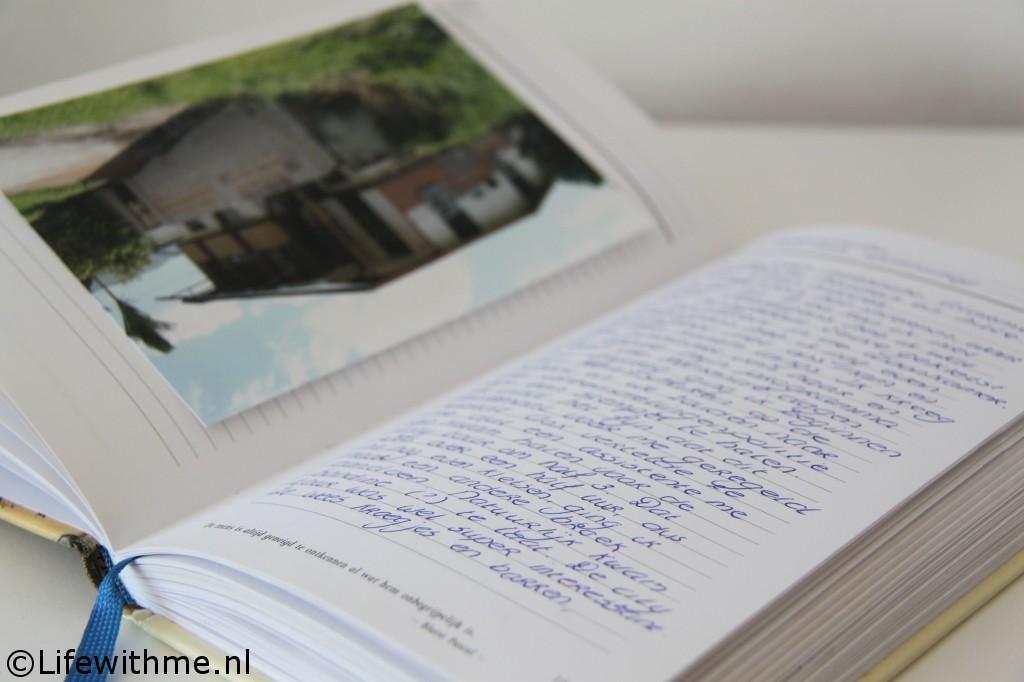 Writings reisjournaal huis