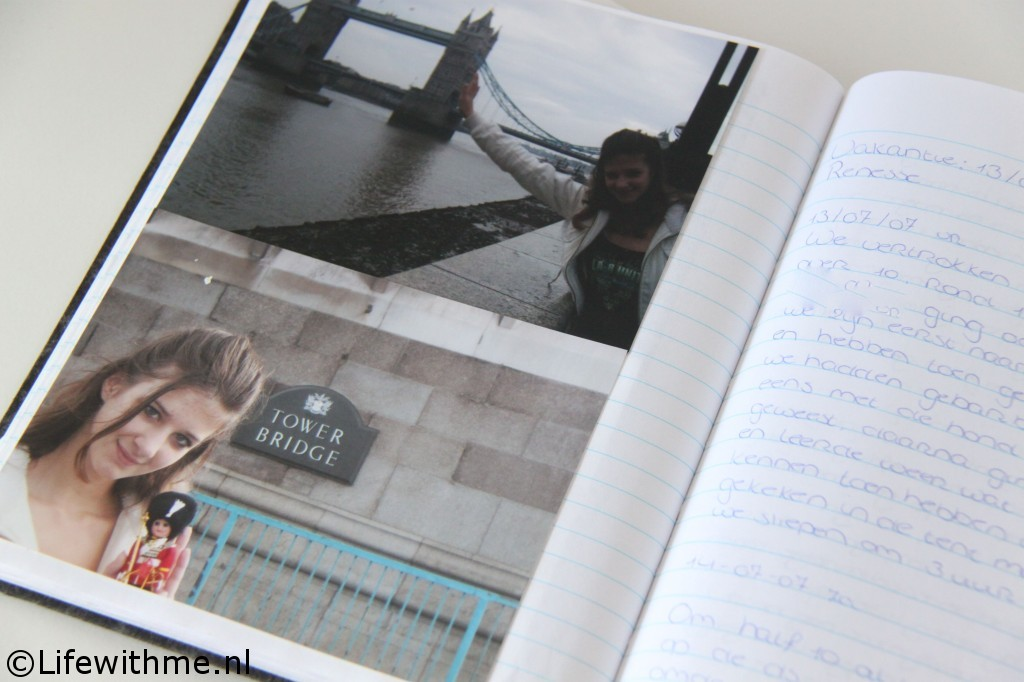 Writings vakantieboek londen