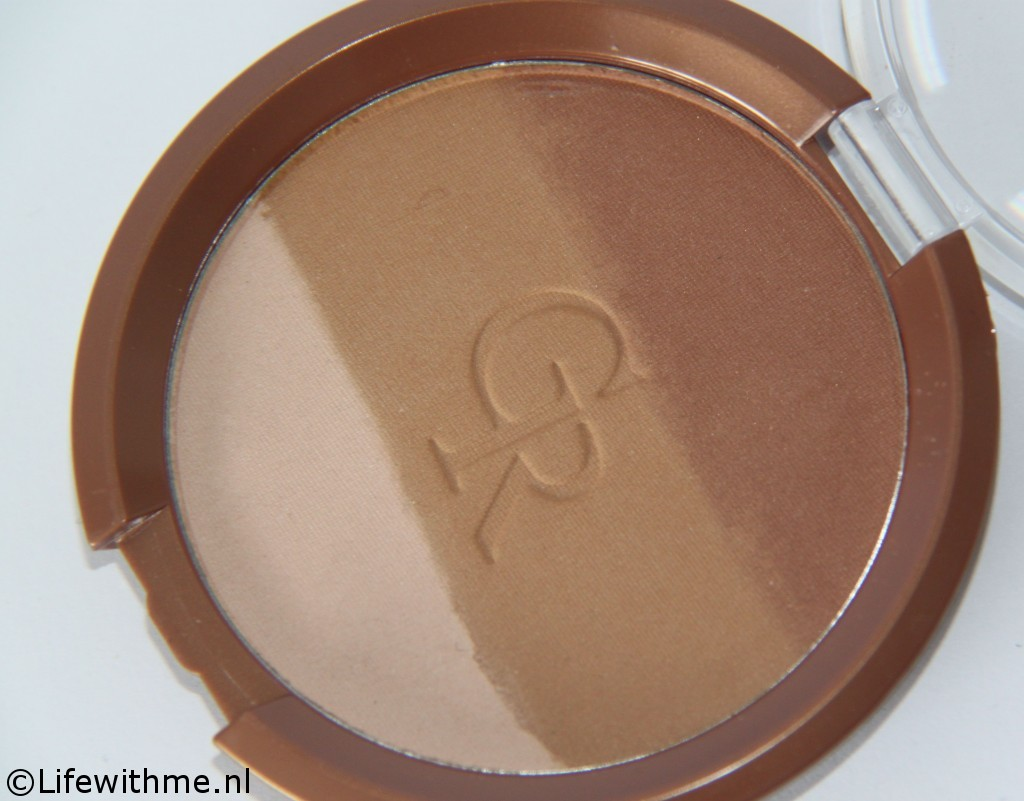 Golden Rose bronzer open