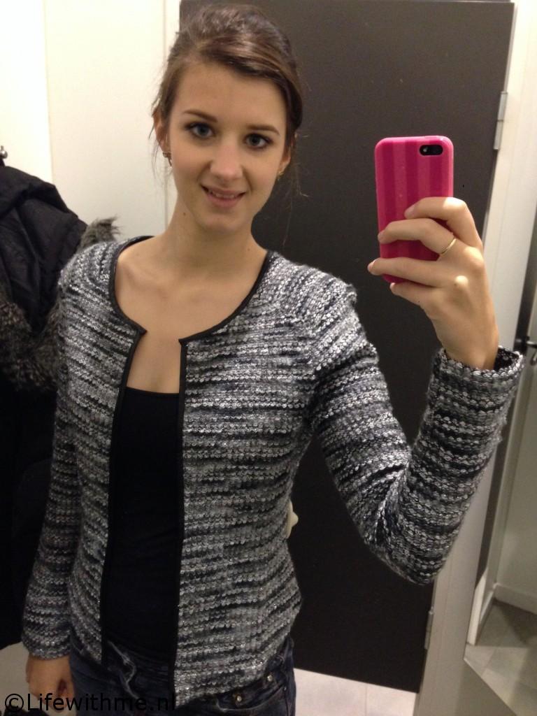 H&M jasje grijs