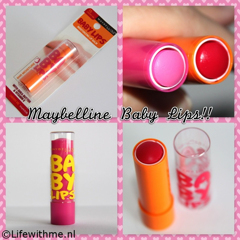 Maybelline baby lips collage