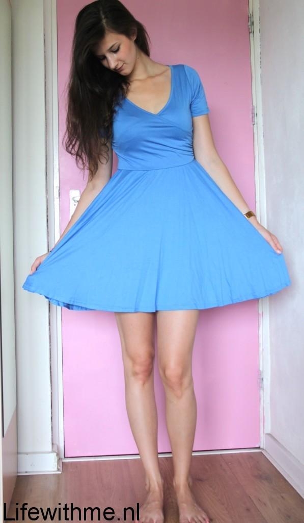 Boohoo jurkje blauw