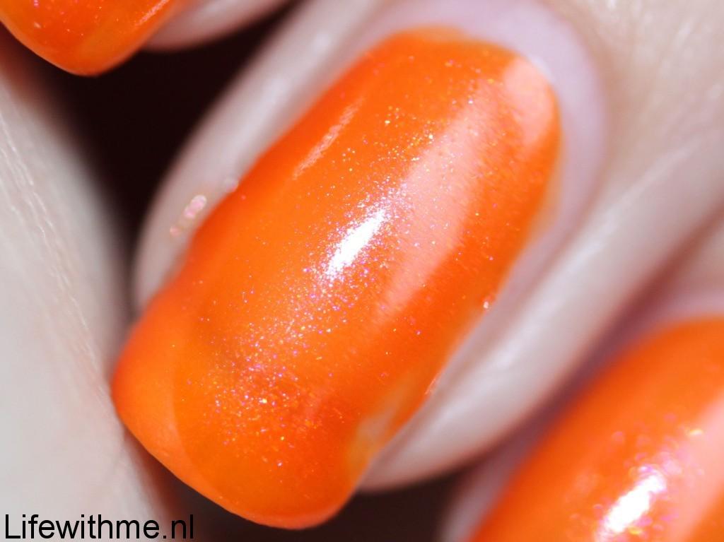 Herome oranje shimmer lak