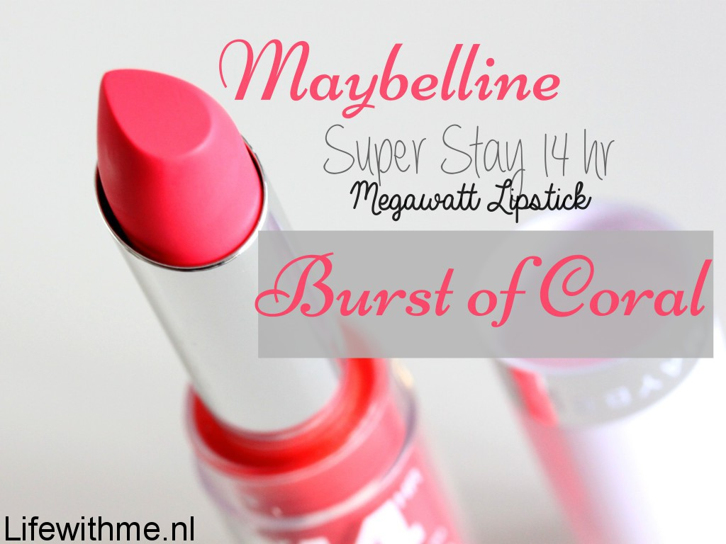 Maybelline superstay mega watt 14 hrs