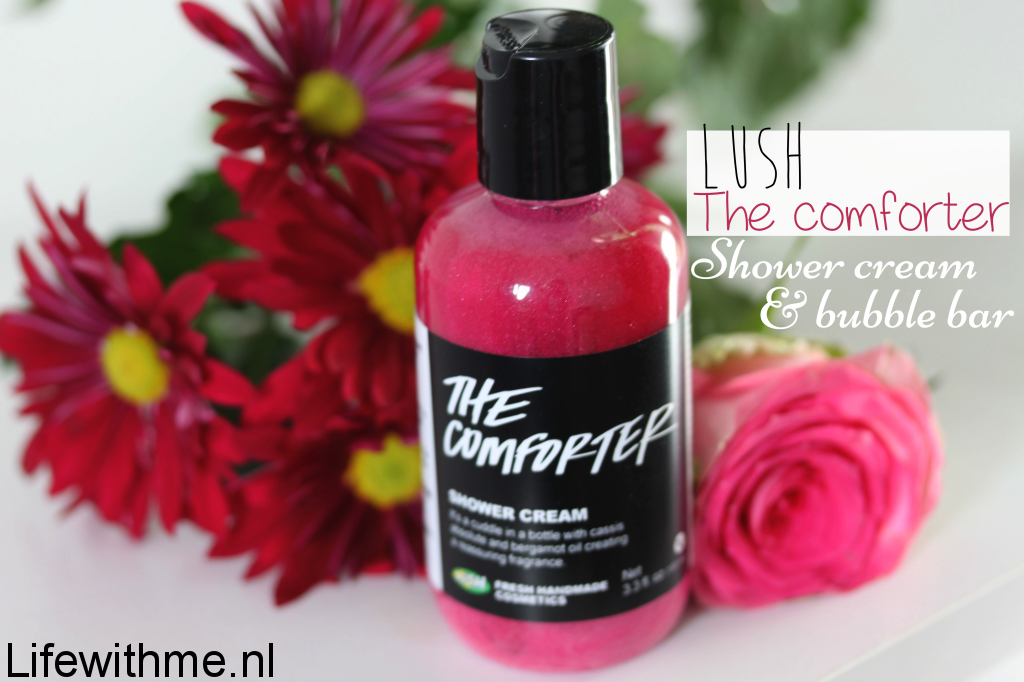 Lush shower cream the comforter