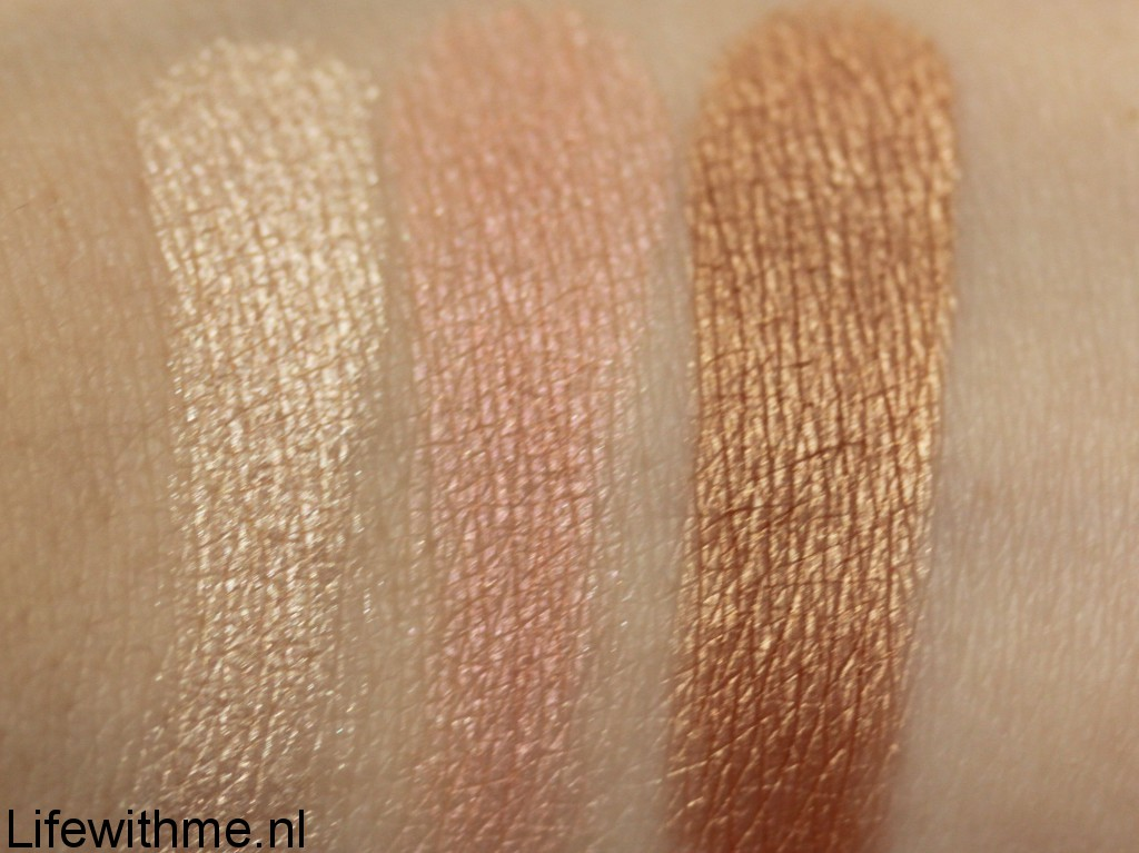 the balm the manizers swatch