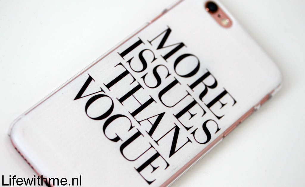 Hoesjes - Hoesjes outlet more issues than vogue