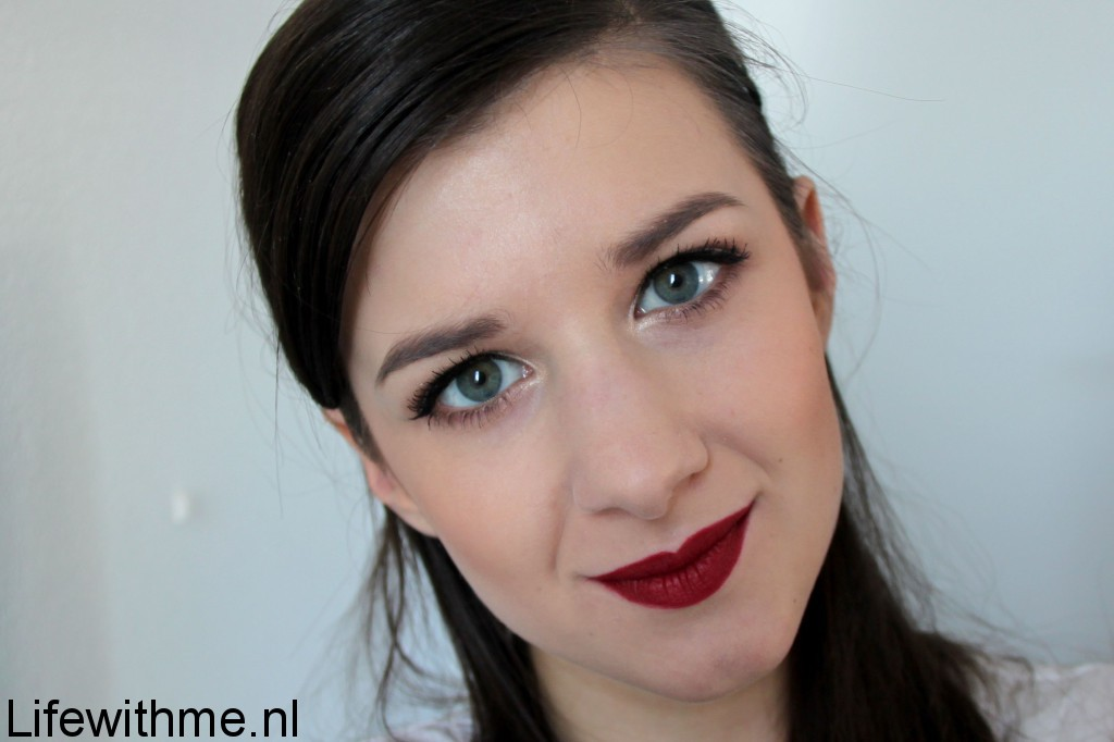 Nars Cruella lip swatch full face