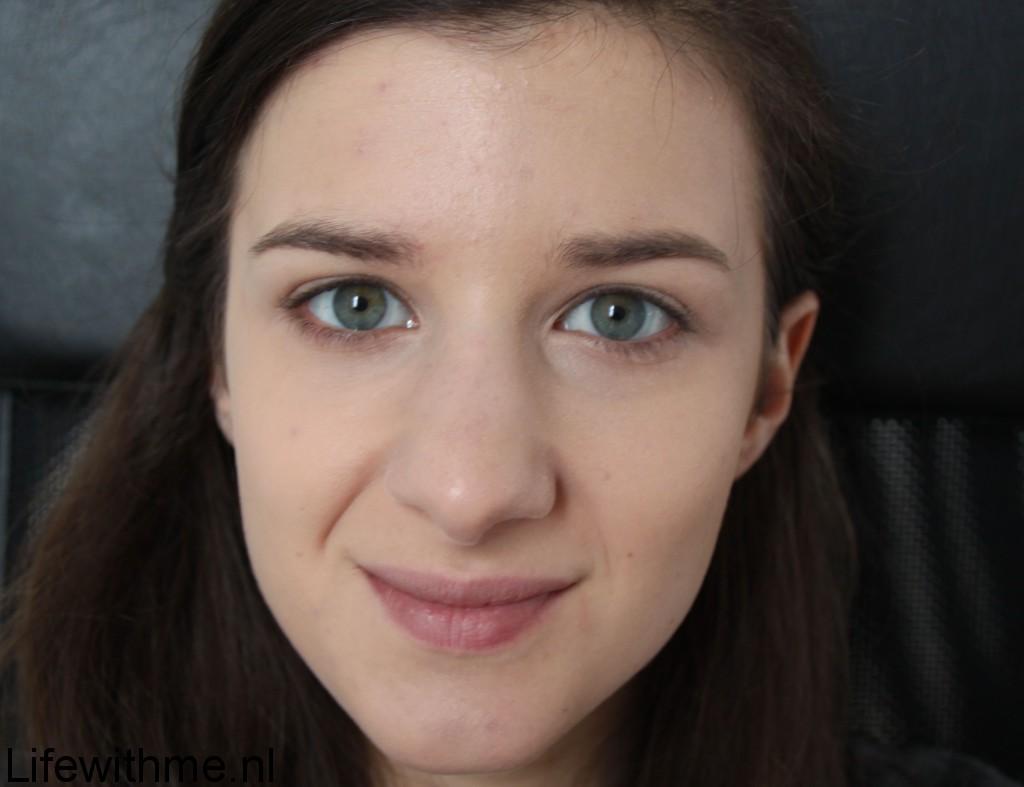 Beautyblender half gezicht test